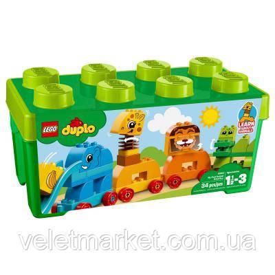 Конструктор LEGO Duplo My First Мое первое животное (10863)