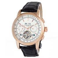 Наручные часы (в стиле) Patek Philippe Grand Complications Tourbillon AA черный-золотой-белый