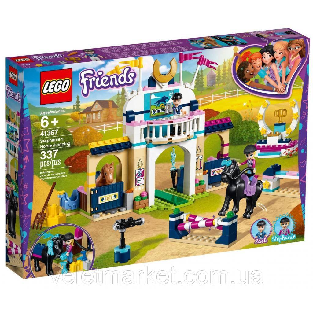 Конструктор LEGO Friends Соревнования по конкуру 337 деталей (41367)