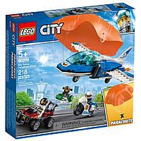 Конструктор LEGO City Воздушная полиция: арест парашютиста 218 деталей (60208)