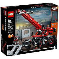 Конструктор LEGO TECHNIC Подъемный кран для пересеченной местности 4057 дет. (42082)