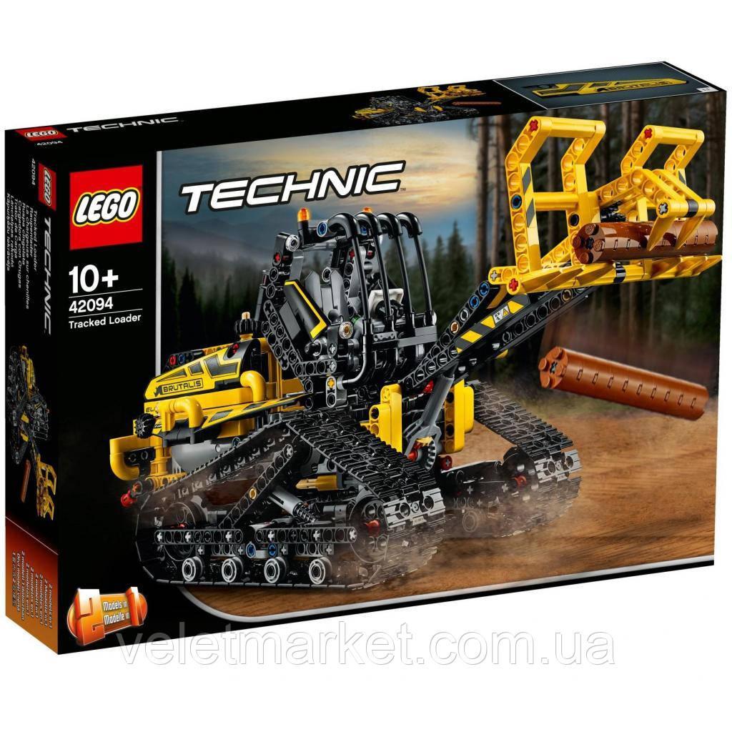 Конструктор LEGO TECHNIC Гусеничный погрузчик 827 деталей (42094)