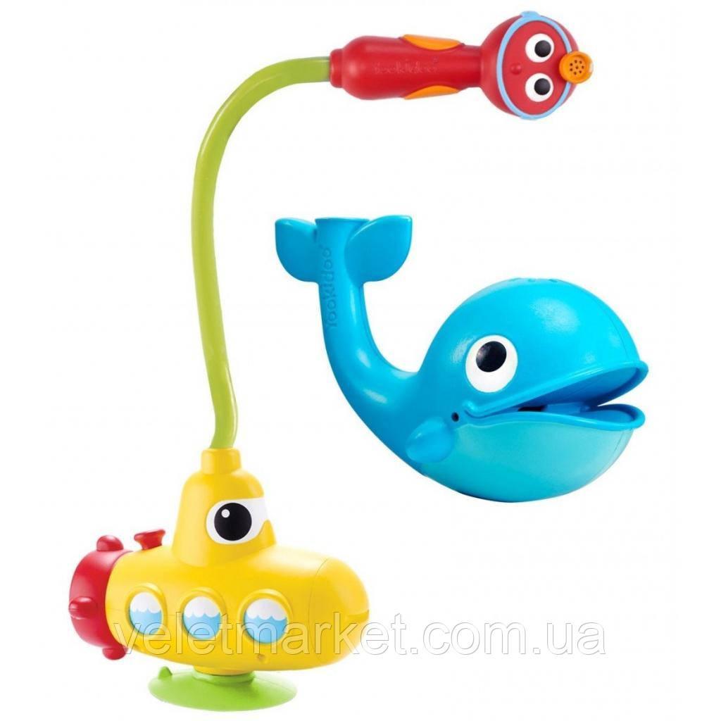 Игрушка для ванной Yookidoo Субмарина с китом (25304)