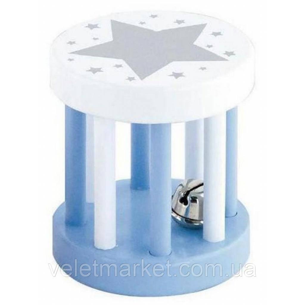 Погремушка Viga Toys Цилиндр голубой (50395)