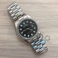 Наручные часы (в стиле) Rolex Date Just New серый-черный