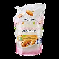Жидкое крем-мыло для рук Biocura Миндальное молоко, 750 мл
