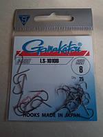 Крючки офсетные Gamakatsu LS1010B №8