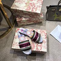 Мюли Christian Dior с вышивкой, фото 1