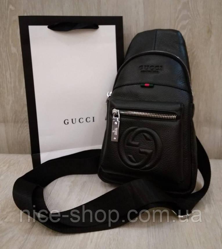 Сумка слинг Gucci, кросс-боди, натуральная кожа, фото 2