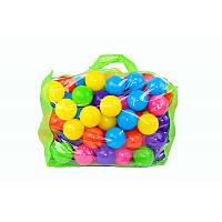 Шарики для сухого бассейна 100 шт. в сумке 60 мм. мягкие    M- toys