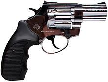 """Револьвер флобера STALKER 4 мм 2,5"""" нікель,черн. рук."""