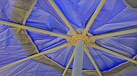 Зонт круглый 3,5м очень прочный  с клапаном, фото 1