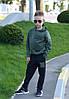 """Детский трикотажный спортивный костюм унисекс """"98"""" с капюшоном (4 цвета), фото 4"""