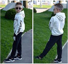 """Детский трикотажный спортивный костюм унисекс """"98"""" с капюшоном (4 цвета), фото 2"""