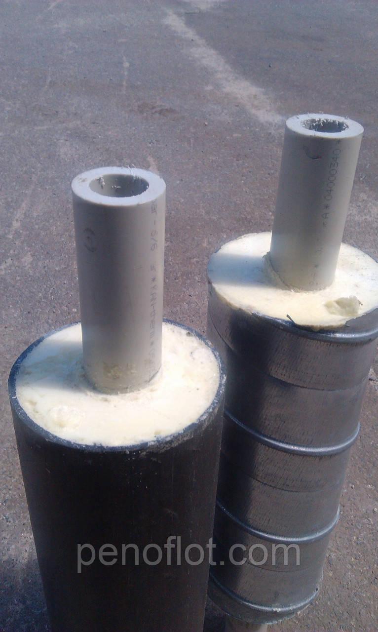 Труба полипропиленовая ф 50 в ППУ изоляции