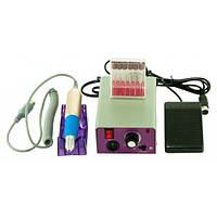 Фрезер машинка для маникюра и педикюра Beauty nail NN 25000 6 насадок в комплектации