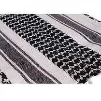 Куфия, шемаг, арафатка MilTec White/Black 12613000, фото 3
