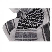 Куфия, шемаг, арафатка MilTec White/Black 12613000, фото 2