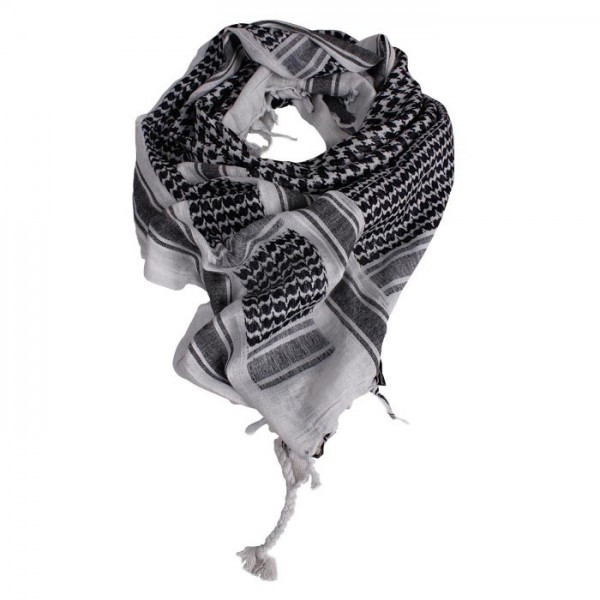 Куфия, шемаг, арафатка MilTec White/Black 12613000