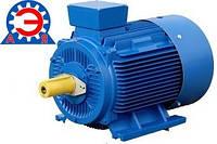 Электродвигатель асинхронный 5,5 кВт 1000 оборотов АИР132S6, АИР 132 S6