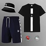 Мужской летний костюм Puma (ориг.бирка) комплект 3 в 1, фото 3