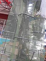 Садок рыболовный ( 2.5, 3 , 4  метра )  квадратный прорезиненный,Отличный подарок ,Нержавеющий сталь