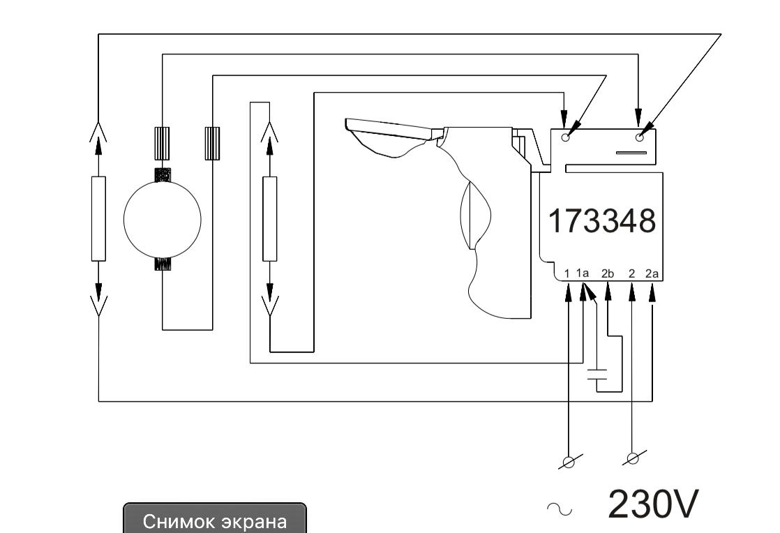 173348 Выключатель Defond DGQ 1106HOHBR SPARKY