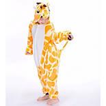 Детская пижама кигуруми жираф v10432, фото 2