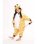 Детская пижама кигуруми жираф v10432, фото 4