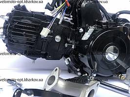 Двигатель, мотор, Delta-110 кубов, полуавтомат, Alfa-lux