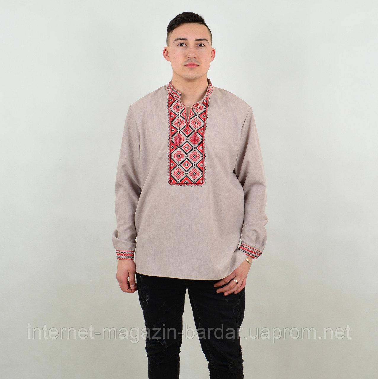 "Мужская сорочка вышиванка ""Француз"""
