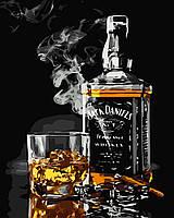 Картина по номерам Виски и сигара (BK-GX5001) 40 х 50 см [Без коробки]