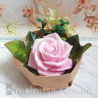 Цветы из мыла, роза  - подарочная упаковка