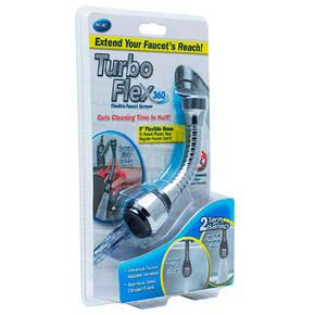 Экономитель воды Turbo Flex 360, фото 2
