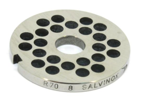 Решетка Unger R70, ячейка 8 мм для мясорубки Fama, Sirman, Fimar, Everest и др.