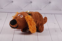 """Мягкая игрушка собака бассет-хаунд Попс, Старче, 18 см """"Тайная жизнь домашних животных"""", плюшевая собака"""