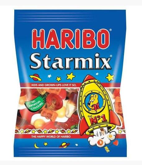 Жувальні цукерки Haribo Starmix 200 g