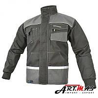 Рабочая куртка EUROCLASSIC-JACKET , со светоотражающими вставками, серого цвета. ARTMAS 48