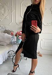 """Платье женское """"Замш"""""""
