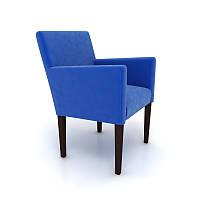 Кресло Nuvolari Хит. Венге/синий велюр 580*580*700Н, фото 1