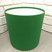 Зеленая шляпная коробка 20*20