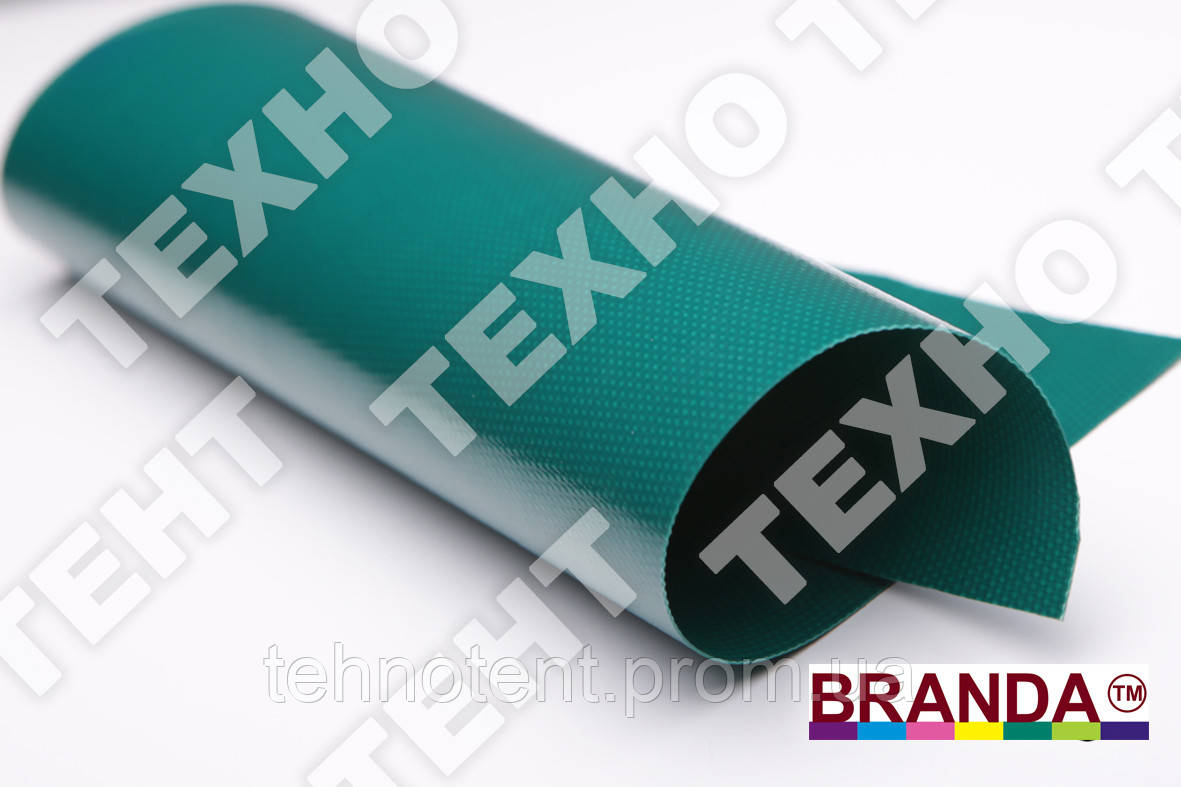 Ткань ПВХ 650 TM BRANDA Зеленый