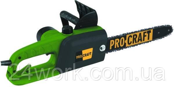 Пила цепная электрическая PROCRAFT K 1600  боковая