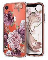 Чехол Spigen для iPhone XR Ciel by CYRILL, Rose Floral (064CS24897)
