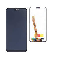 Дисплей для Huawei P20 Lite Dual Sim (ANE-L21/ANE-LX1)/Nova 3e + тачскрин, синий