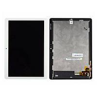 Дисплей для Huawei MediaPad T3 10.0 (AGS-L09) + тачскрин, белый