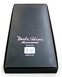 Чоловічі підтяжки Paolo Udini чорно-бордові, фото 5