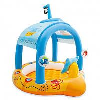 """Детский бассейн """"Капитан"""" 57426 Intex (107х102х99), фото 1"""
