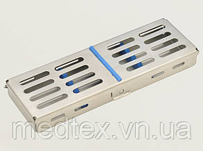 Бокс (лоток-касета) для стерилизации инструмента (5шт.)