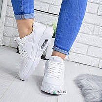Кросівки жіночі Nike Air Max білі репліка №1980, фото 3